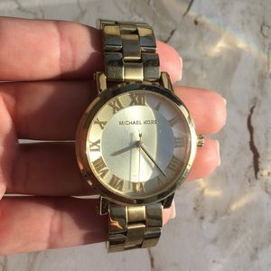 Original Gold Michael Kors Watch